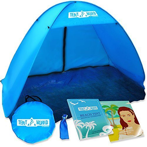 Tent World Mercury Popup Instant Beach Tent by Thermalabs