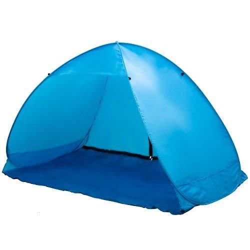 "Beach Tent Popup ""Mercury"" - Blue-6"