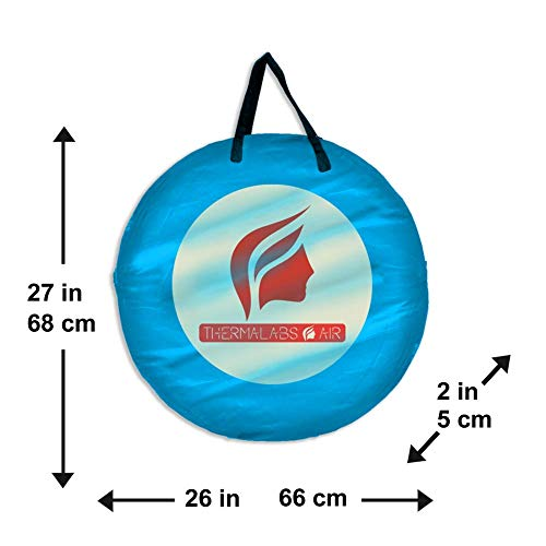 Spray Tan Tent - BLUE-4
