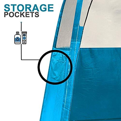 Spray Tan Tent - BLUE-8