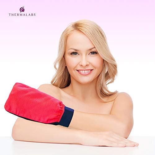 Luxury Exfoliating Mitt - RED-4