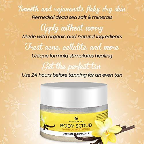 Body Scrub Vanilla Patchouli 400g-5