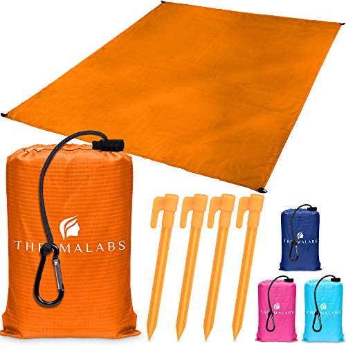 Beach Blanket - Orange-5