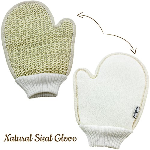 Exfoliating Sisal Body & Face Glove-7