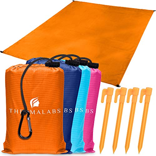 Beach Blanket - Orange-4