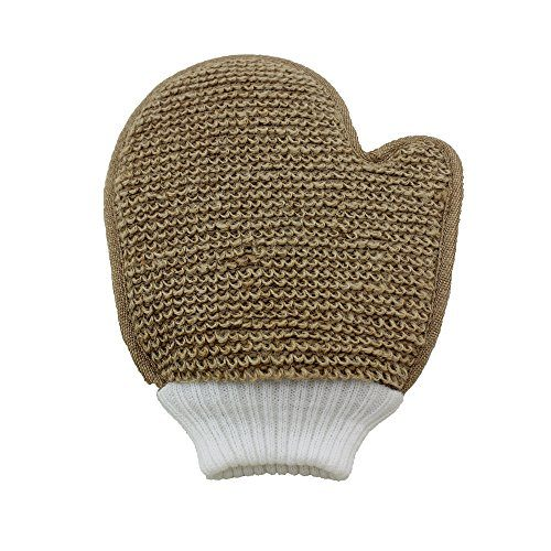 Exfoliating Jute Body & Face Glove 1