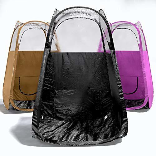 Spray Tan Tent - BLACK-5