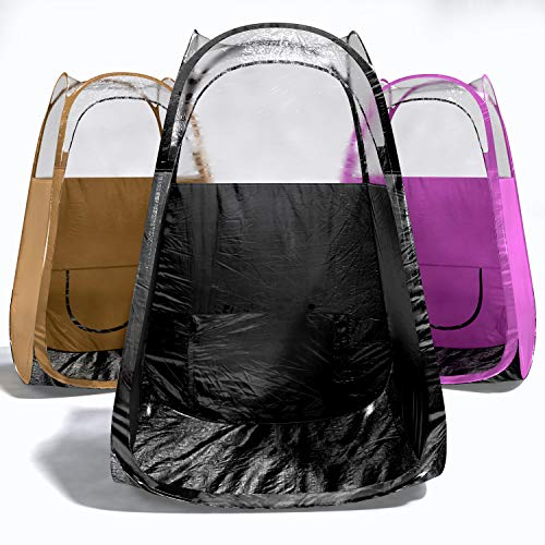 Spray Tan Tent - BLACK-5