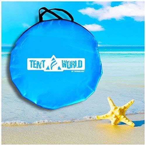 "Beach Tent Popup ""Mercury"" - Blue 2"