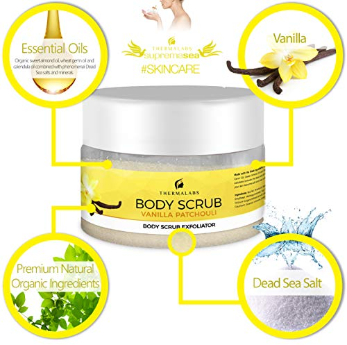 Body Scrub Vanilla Patchouli 400g-4