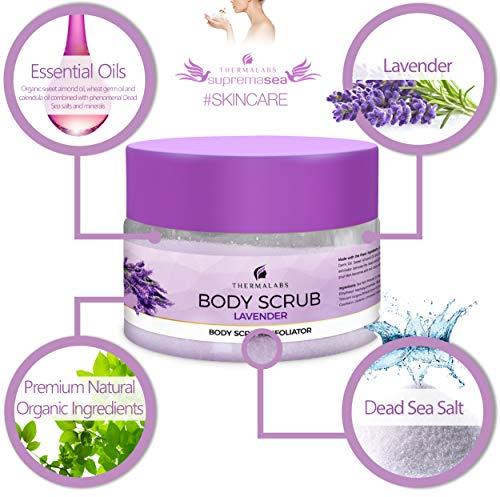 Body Scrub Lavender 400g-4