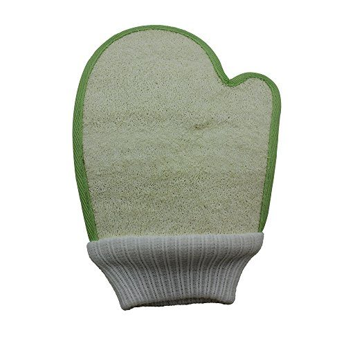 Exfoliating Loofah Body & Face Glove 1