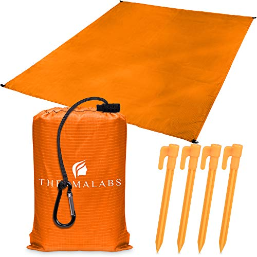 Beach Blanket - Orange-8