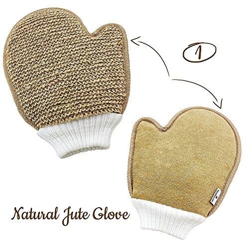 Exfoliating Glove Set of 3-4