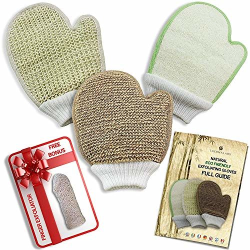 Exfoliating Glove Set of 3 1