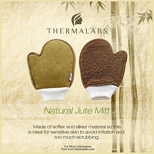 Exfoliating Jute Body & Face Glove 2